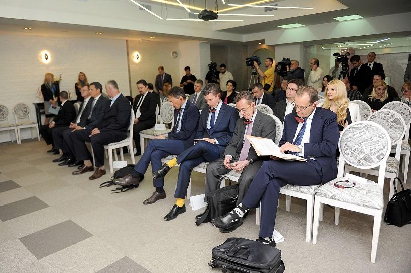 SPORT MOK, potpisivanje sponzorskog ugovora izmedju Adrija Medija Grupe i Olimpijskog komiteta Srbije, na fotografiji , foto Zorana Jevtic