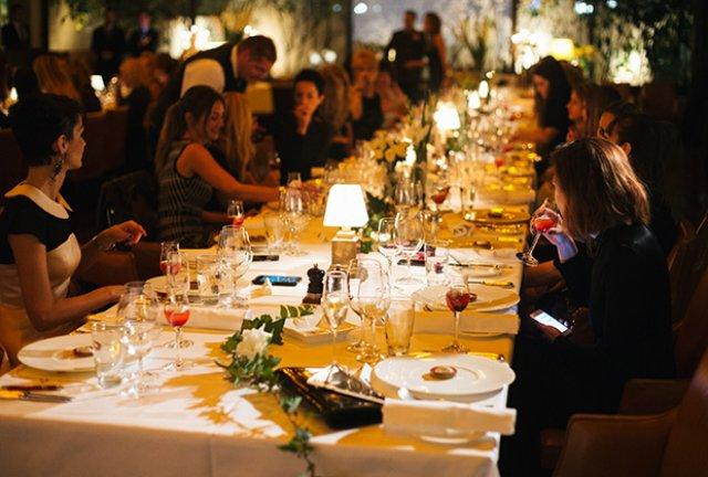 ELLE FASHION DINNER: Elle Magazine celebrates women's solidarity!