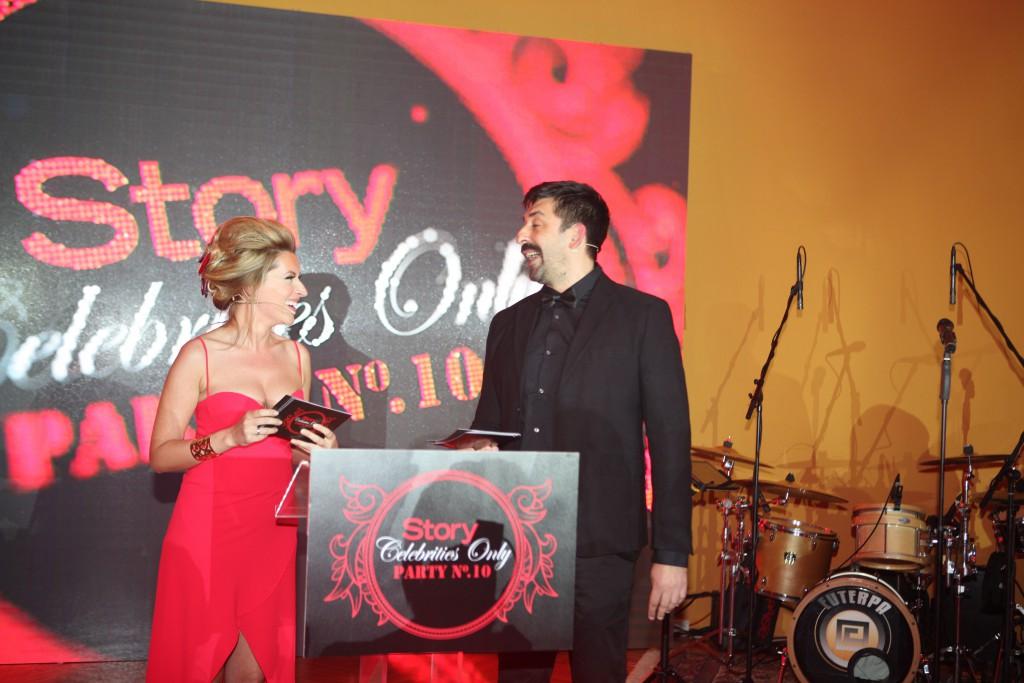 Voditeljski duo, Anđelka Prpić i Ognjen Amidžić