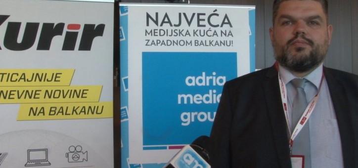 KURIR TV Miloš Došen o Belgrade venture forumu: Adria media grupa je naš ključni medijski partner