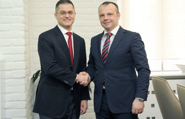Presidental candidate Vuk Jeremic visited Adria Media Group