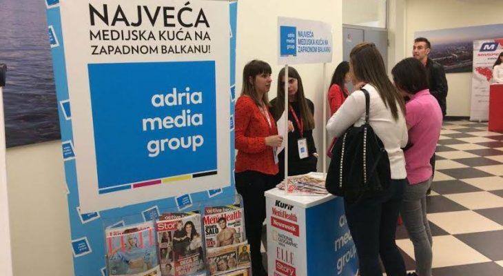 ADRIA MEDIA GROUP NA SAJMU ZAPOŠLJAVANJA I PRAKSI ''KORAK 2017''