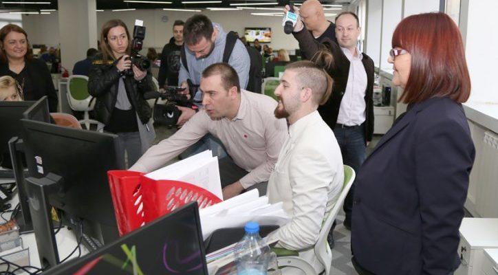 Kandidat za predsednika Preletačević gost Adria Media Grupe