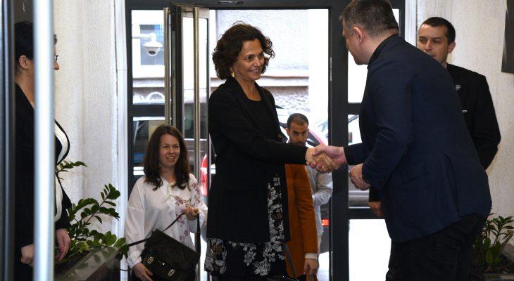 Kompanija Adria Media Group ugostila ambasadorku Izraela u Srbiji!
