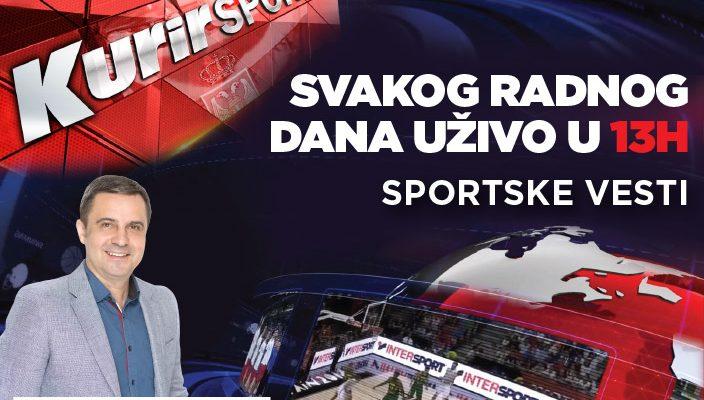 ADRIA MEDIA GROUP I KURIR TV POKREĆU SPORTSKU WEB EMISIJU – KURIR SPORT
