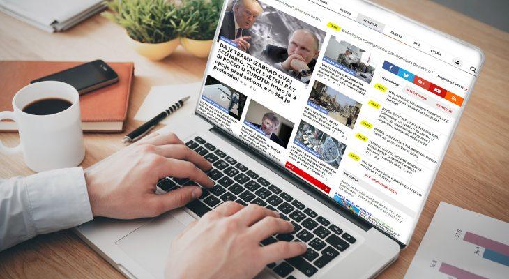 IZUZETAN RAST ČITANOSTI NAŠIH WEB IZDANJA: 60,4 procenta svih korisnika interneta u Srbiji čita kurir.rs