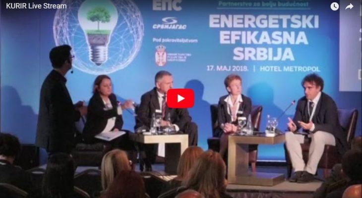 (VIDEO) KONFERENCIJA ENERGETSKI EFIKASNA SRBIJA: Tri panela u tri videa