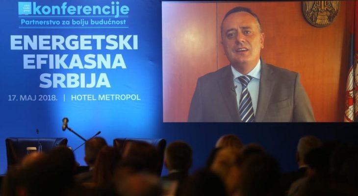 MINISTAR ANTIĆ OBRATIO SE UČESNICIMA KONFERENCIJE: Srbija je konačno počela da štedi energiju (VIDEO)