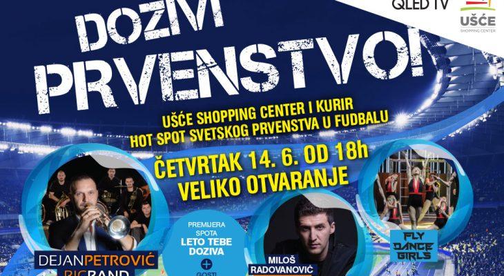 SPREMA SE SPEKTAKL U UŠĆU: Doživi prvenstvo!