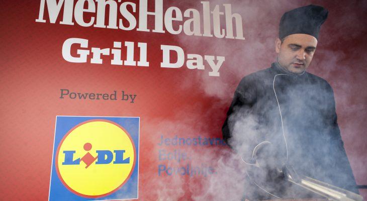 MEN'S HEALTH GRILL DAY: DRUŽENJE ZDRAVIH, JAKIH I LEPIH