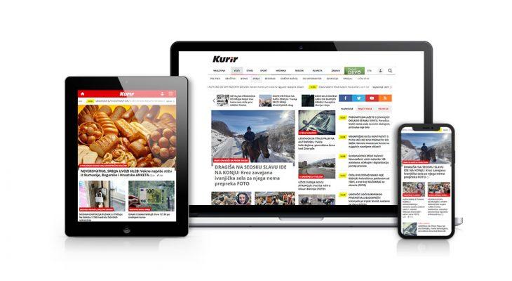 Kurir.rs čita čak 65,70 odsto svih korisnika interneta u Srbiji!