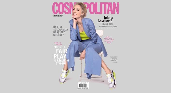 Ekskluzivna naslovna strana magazina Cosmopolitan